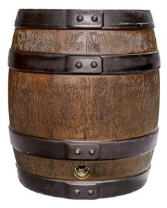 Augustiner Hell Partyfass Holz 30 Liter | GBZ - Die Getränke-Blitzzusteller