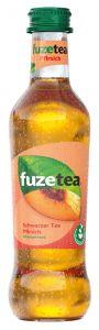 Fuze Tea Pfirsich Glas | GBZ - Die Getränke-Blitzzusteller