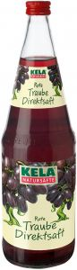KELA Rote Traube Direktsaft   GBZ - Die Getränke-Blitzzusteller