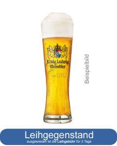 König Ludwig Weißbierglas | GBZ - Die Getränke-Blitzzusteller