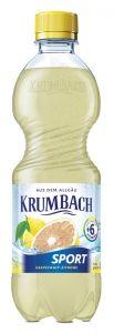Krumbach Sport Grapefruit-Zitrone PET | GBZ - Die Getränke-Blitzzusteller