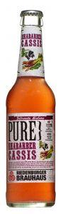 Pure Rhabarber Cassis Bio | GBZ - Die Getränke-Blitzzusteller