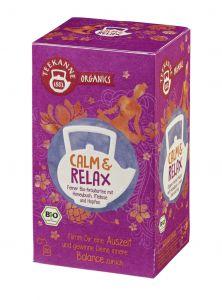 Teekanne Organics Calm & Relax Bio | GBZ - Die Getränke-Blitzzusteller