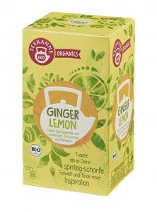 Teekanne Organics Ginger Lemon Bio | GBZ - Die Getränke-Blitzzusteller