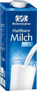 Weihenstephan H-Milch 1,5% | GBZ - Die Getränke-Blitzzusteller