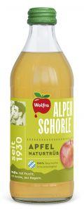 Wolfra Alpenschorle Apfel Naturtrüb | GBZ - Die Getränke-Blitzzusteller
