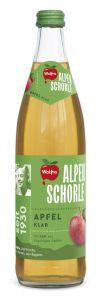 Wolfra Alpenschorle Apfel klar   GBZ - Die Getränke-Blitzzusteller