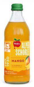 Wolfra Alpenschorle Mango | GBZ - Die Getränke-Blitzzusteller