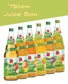 Yellow Juice Box | GBZ - Die Getränke-Blitzzusteller