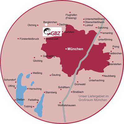 Stadtgebiet München